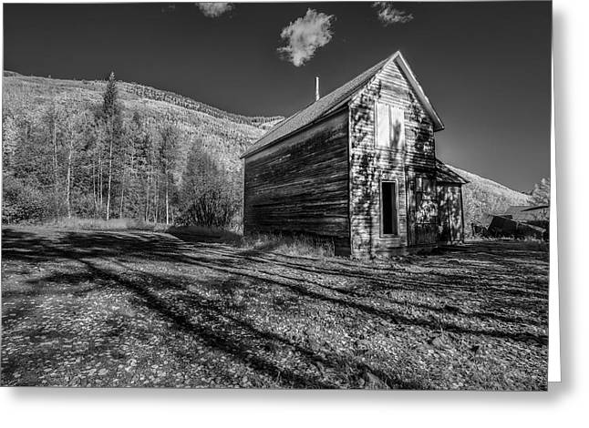 Not Anymore Greeting Card by Jon Glaser