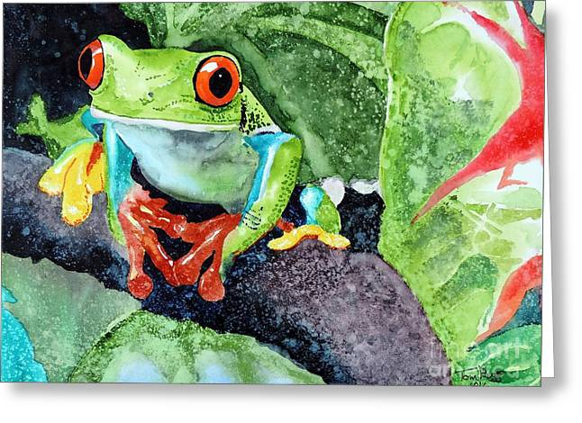 Not Kermit Greeting Card by Tom Riggs