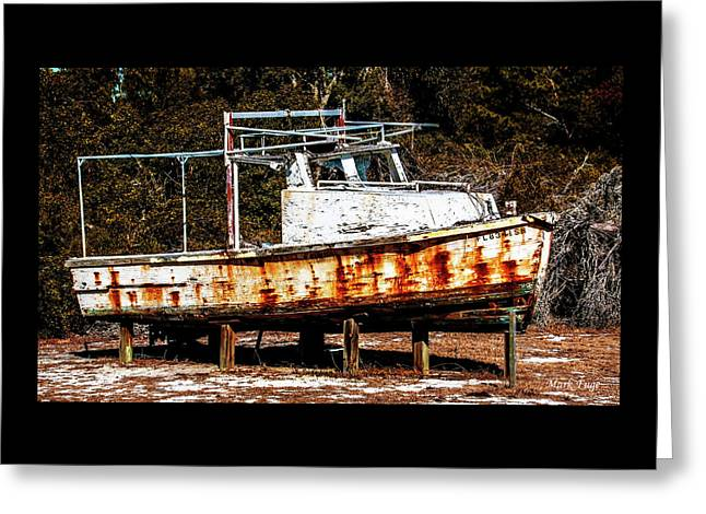 Not Seaworthy Greeting Card by Mark Fuge