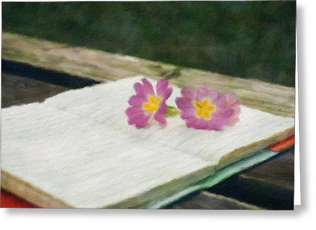 Note - Id 16218-130646-1973 Greeting Card by S Lurk