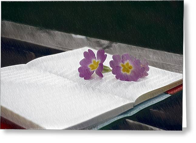 Note - Id 16218-130654-9328 Greeting Card by S Lurk