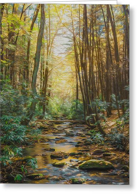 Nothing But Peace Greeting Card by Lisa Bell