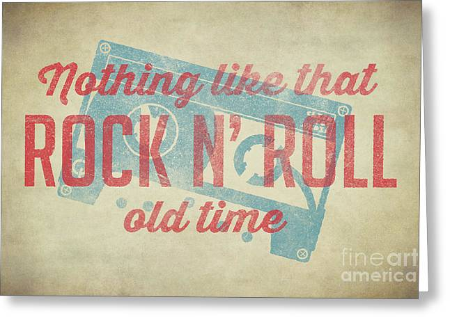 Nothing Like That Old Time Rock 2 Greeting Card by Edward Fielding
