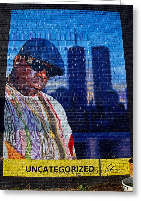 Notorious B.i.g. Greeting Card by  Newwwman