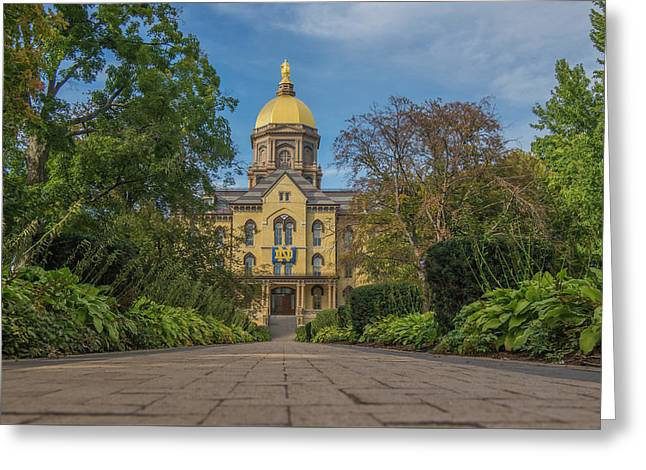 Notre Dame University Q Greeting Card