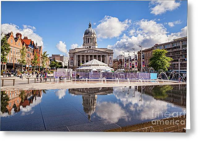 Nottingham, England Greeting Card by Colin and Linda McKie