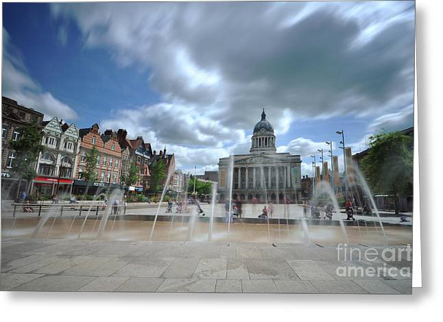 Nottingham Town Hall 2.0 Greeting Card