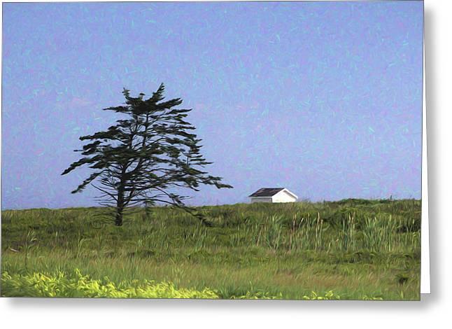 Nova Scotia Landscape Greeting Card