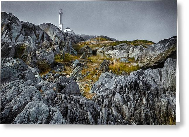 Greeting Card featuring the photograph Nova Scotia's Rocky Shore by Garvin Hunter