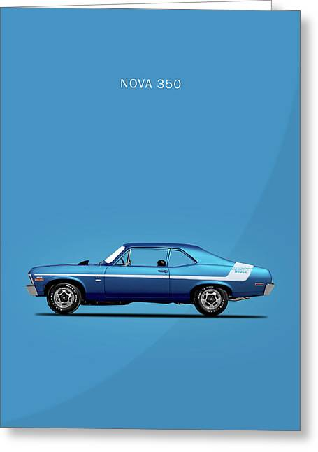 Nova Yenko Deuce 1970 Greeting Card by Mark Rogan