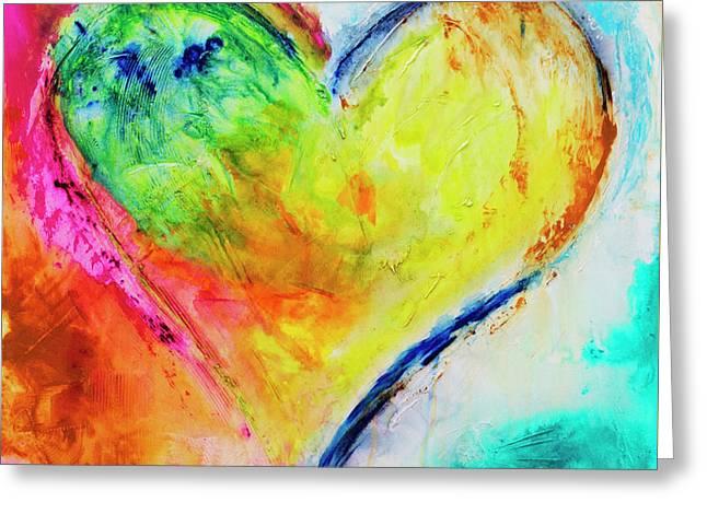 November Heart Greeting Card by Ivan Guaderrama