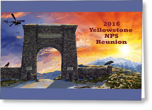 Nps Reunion Greeting Card