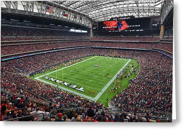 Nrg Stadium - Houston Texans  Greeting Card