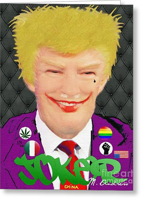Nsfw / Mr. President??? Greeting Card by Miguelandrew Art