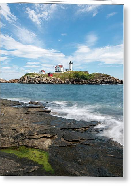 Nubble Light IIi Greeting Card