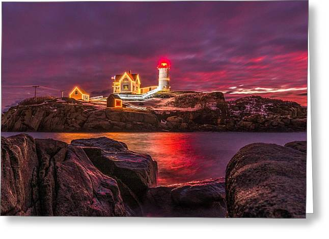 Nubble-rific Greeting Card by Bryan Xavier