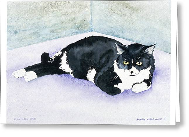 Nubby Greeting Card by Eileen Hale