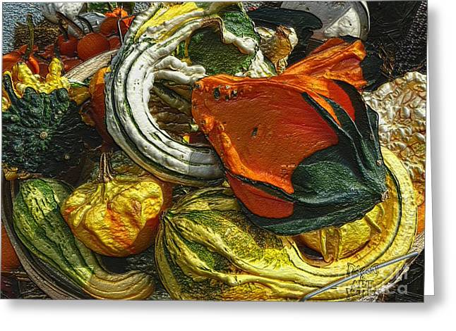 Ebsq Greeting Cards - Nubby Squash Greeting Card by Dee Flouton