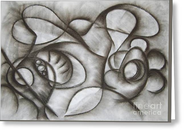 Nucleus Of Time Greeting Card