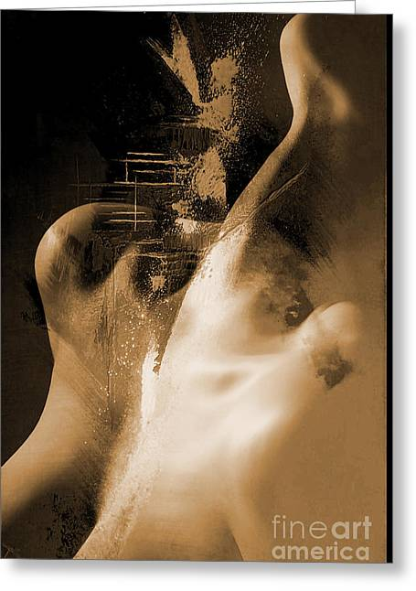 Nude 024c Greeting Card