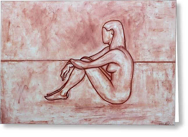 Nude 26 Greeting Card by Patrick J Murphy