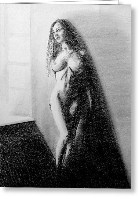 Nude 3 Greeting Card