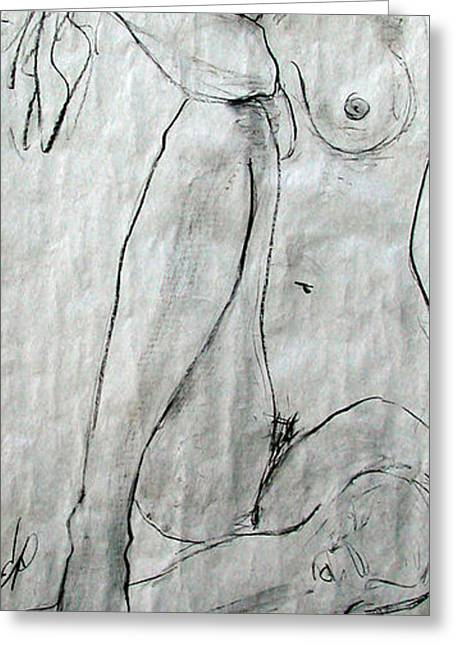 Nude 4749 Greeting Card