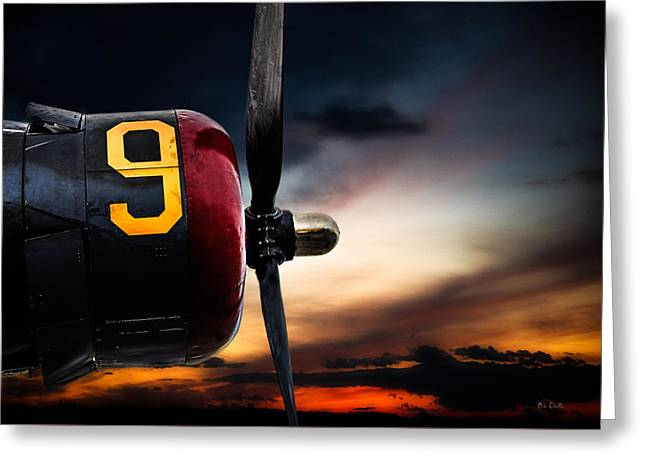 Number 9 Consolidated B-24 Liberator Greeting Card by Bob Orsillo