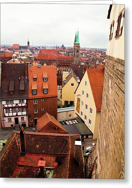 Nuremberg Cityscape Greeting Card