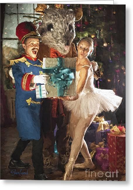 Nutcracker Christmas Greeting Card