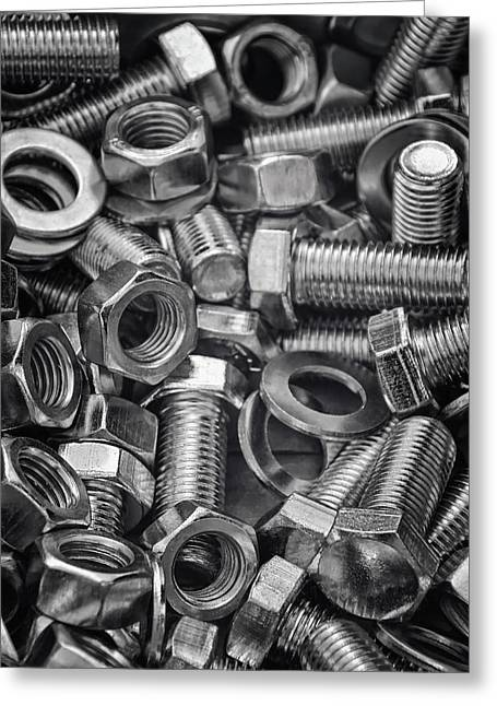 Nuts And Bolts  Greeting Card