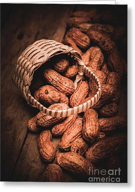 Nuts Still Life Food Photography Greeting Card by Jorgo Photography - Wall Art Gallery