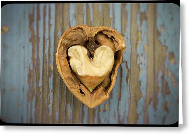 Nutty Love Affair Greeting Card by Lea Seguin