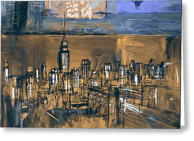 Ny Skyline 270 4 Greeting Card