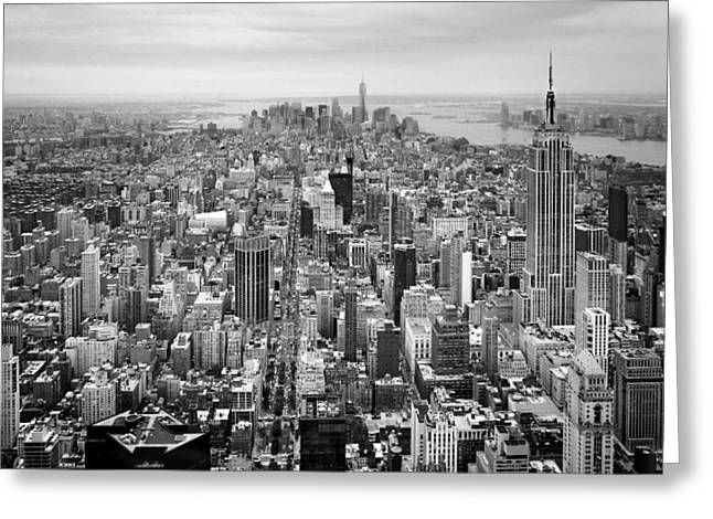 Nyc Aerial Greeting Card