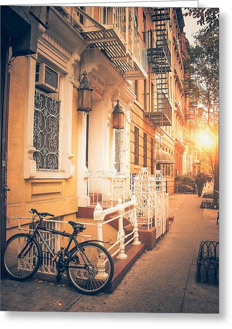 Nyc Autumn Greeting Card
