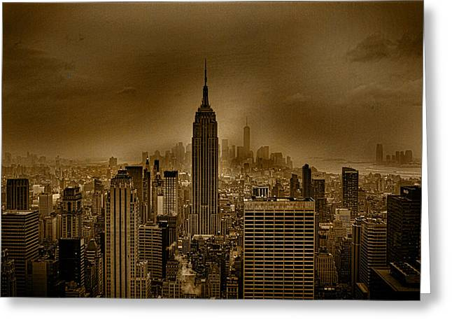NYC Greeting Card by Martin Newman