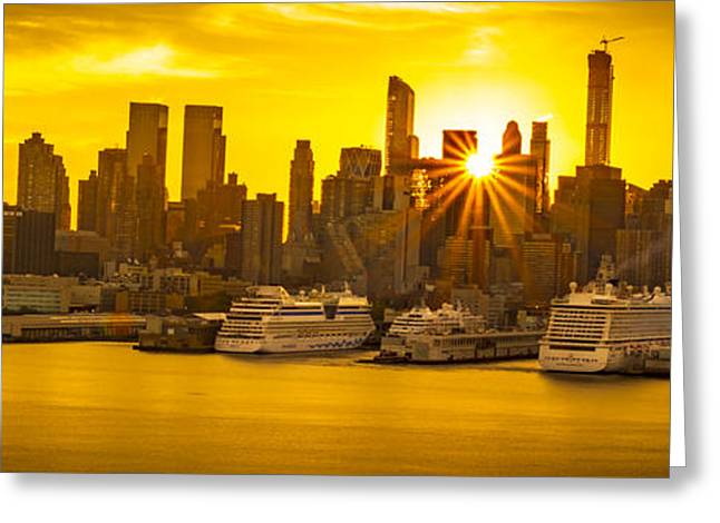 Nyc Ports Greeting Card