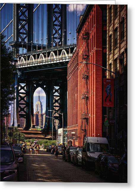 Nyc Summer Postcard Greeting Card by Eduard Moldoveanu
