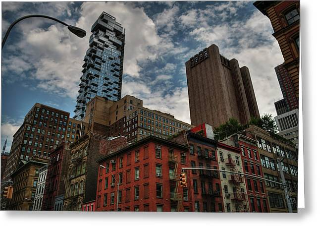 Greeting Card featuring the photograph Nyc - Tribeca 002 by Lance Vaughn