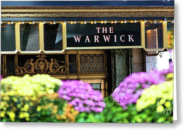 Nyc Warwick Hotel  Greeting Card