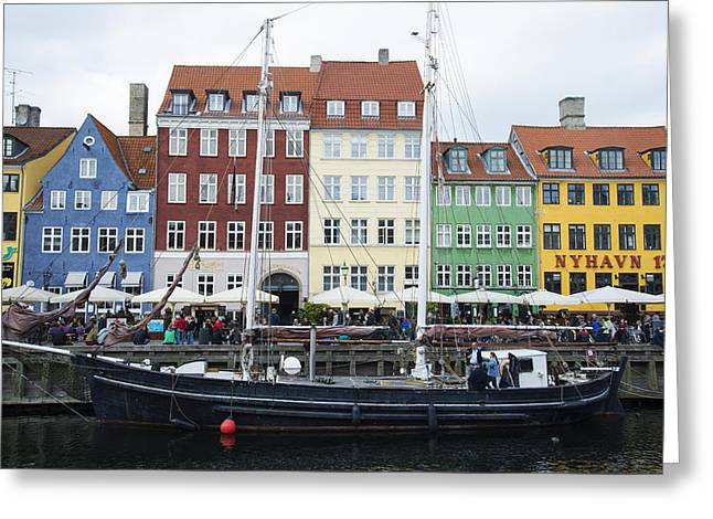 Nyhavn 17 Greeting Card by Eric Nielsen