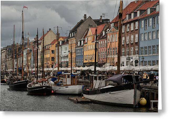 Nyhavn Greeting Card by Wade Aiken