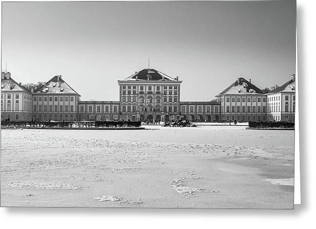 Nymphenburg Palace - Munich Greeting Card by Michael Siebert