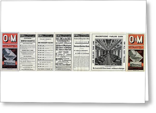 O And M Timetable Greeting Card