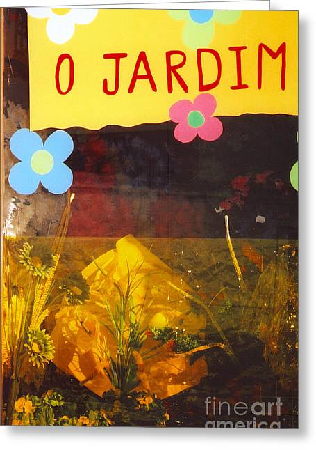 O Jardim Greeting Card by Andrea Simon
