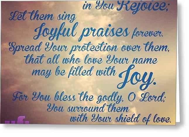 O Lord, Hear Me As I Pray;  Pay Greeting Card