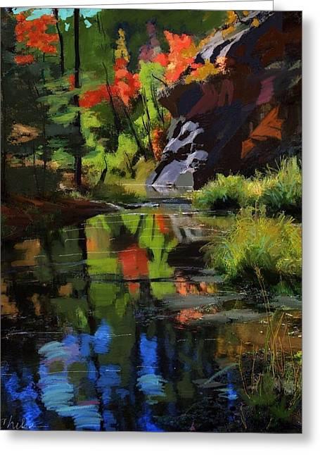 Oak Creek #2 Greeting Card by Craig Nelson