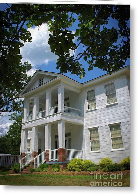 Oak Grove Plantation, Sc Greeting Card by Skip Willits