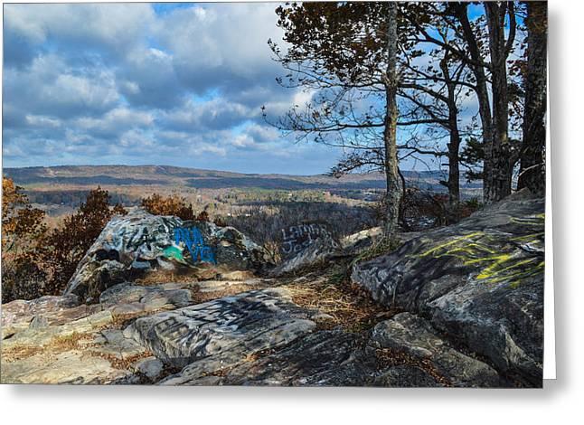 Oak Mountain In Birmingham Alabama Greeting Card by Michael Thomas